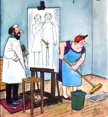 A la recherche d'une femme de ménage