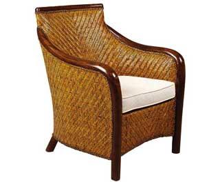 fauteuil en rotin
