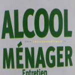 alcool et nettoyage
