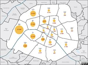 arrondissement de paris où sont les chambres de bonne