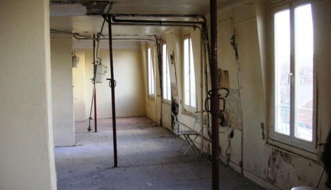 rénovation chambres de bonne