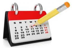 calendrier des menages